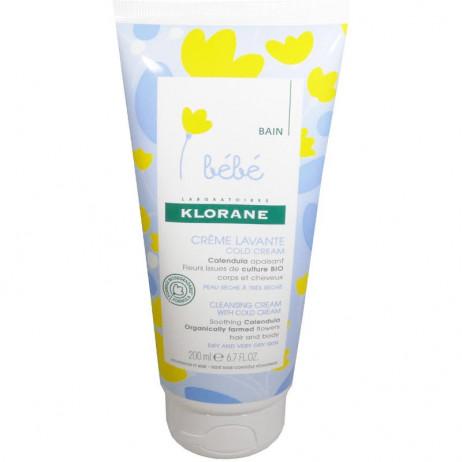 KLORANE Bébé crème lavante cold cream