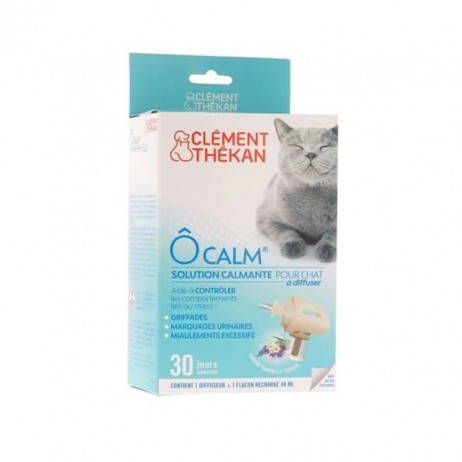 CLEMENT THEKAN Ô Calm solution calmante pour chat à diffuser
