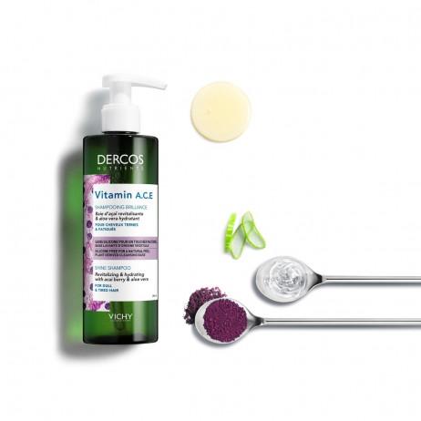 VICHY Dercos Nutrients Vitamin A.C.E shampooing 250ml