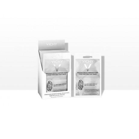 VICHY Masque argile purifiant pores 2x6ml
