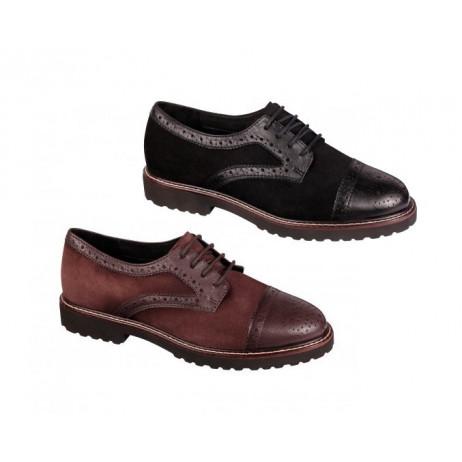 SCHOLL Sienna chaussures femme noir ou moka