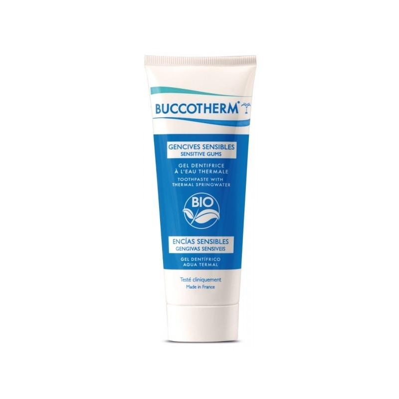 BUCCOTHERM gel dentifrice à l'eau thermale de Castéra-Verduzan gencives sensibles 75ml