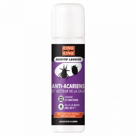 CINQ SUR CINQ Additif lessive anti acariens et vecteur de la gale 250ml