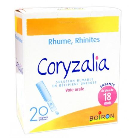 CORYZALIA rhume, rhinites solution buvable en récipient unidose 20 unidoses