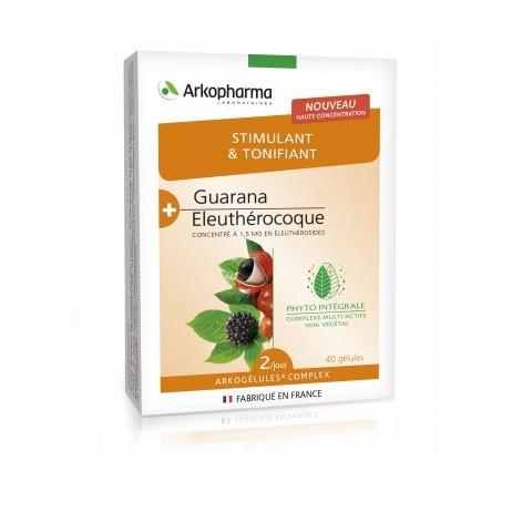 ARKOPARMA Stimulant et tonifiant 40 gélules