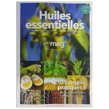 LIVRE le mag' huiles essentielles 210 conseils pratiques 191 pages
