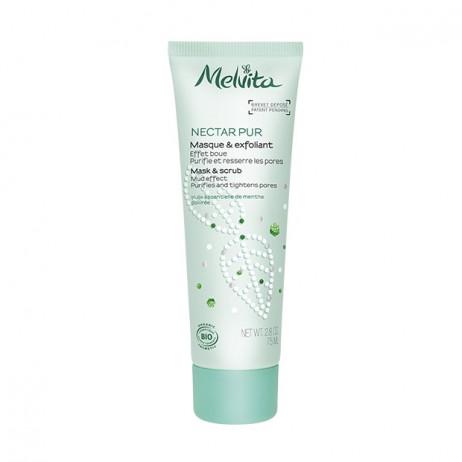 MELVITA Nectar pur masque et exfoliant 75ml