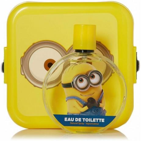 MINION Coffret boite plastique + eau de toilette 100ml