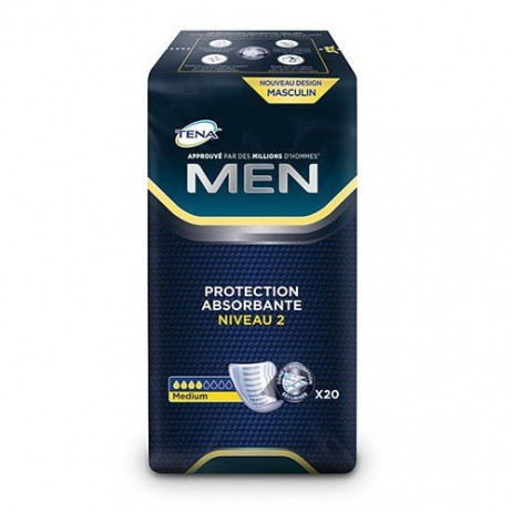 TENA MEN protections absorbantes niveau 2 x20