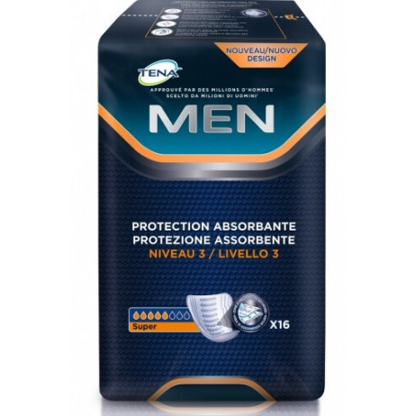 TENA MEN protections absorbantes niveau 3 x16