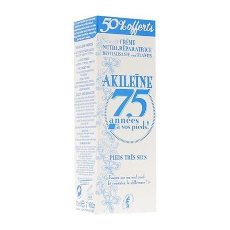 AKILEINE Pieds très secs crème nutri réparatrice 75ml