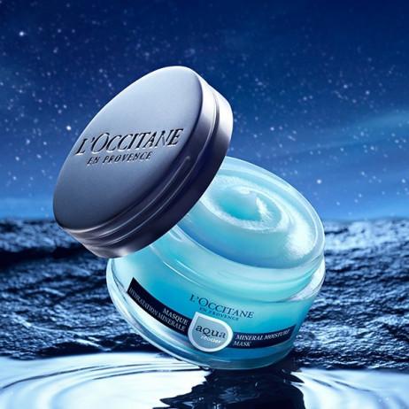 L'OCCITANE Aqua réotier masque hydratation minérale 75ml