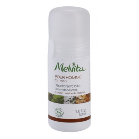 MELVITA FOR MEN déodorant bille roll-on 50ml