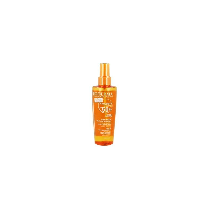 BIODERMA Photoderm BRONZ SPF50+ huile sèche très haute protection spray 200ml