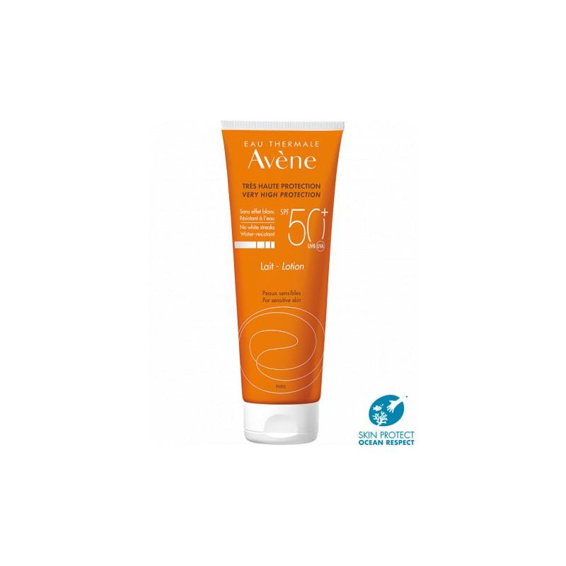 AVENE Très haute protection SPF50+ lait peaux sensibles 100ml
