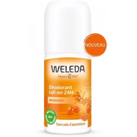 WELEDA Argousier déodorant roll-on 24h 50ml