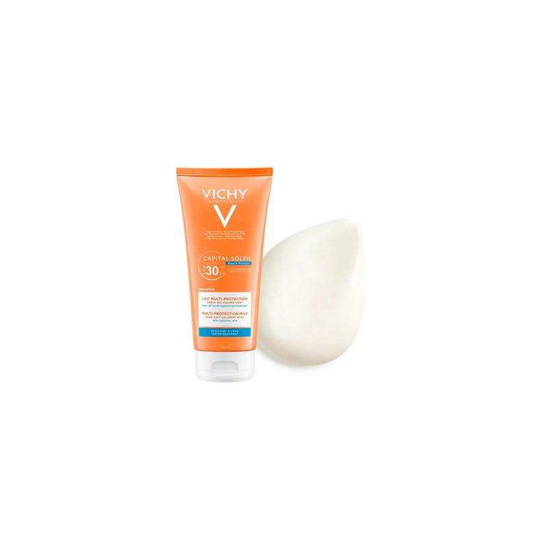 VICHY Capital Soleil Beach Protect lait multi-protection SPF30 200ml
