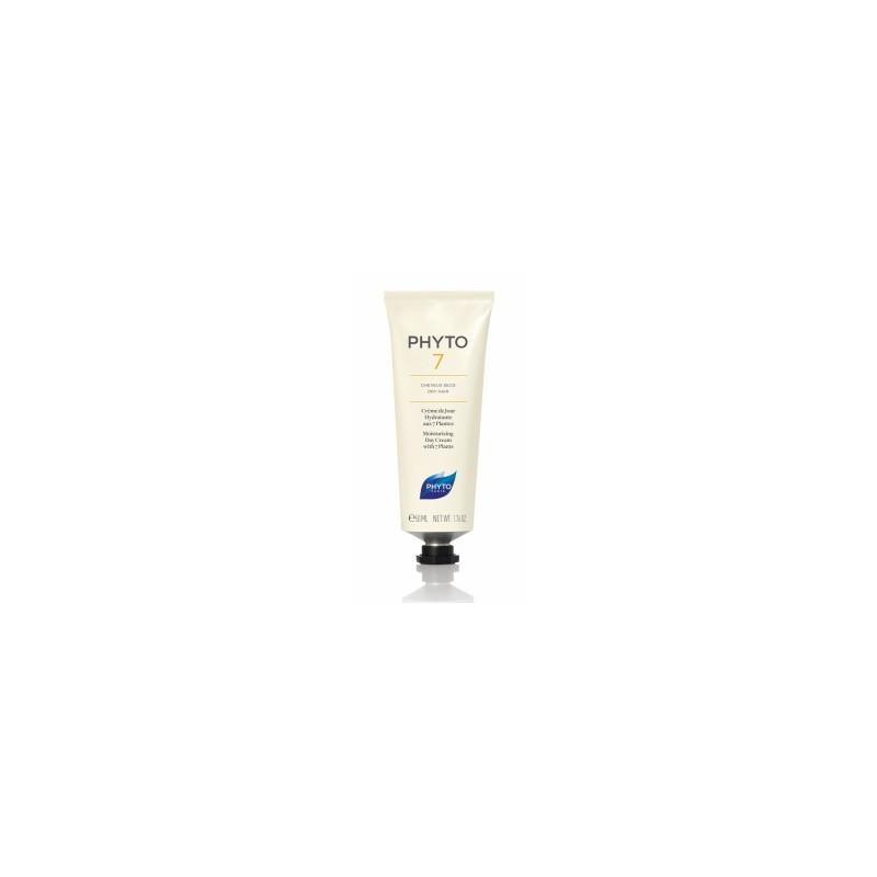 PHYTO 7 Crème de jour hydratante cheveux secs 50 ml