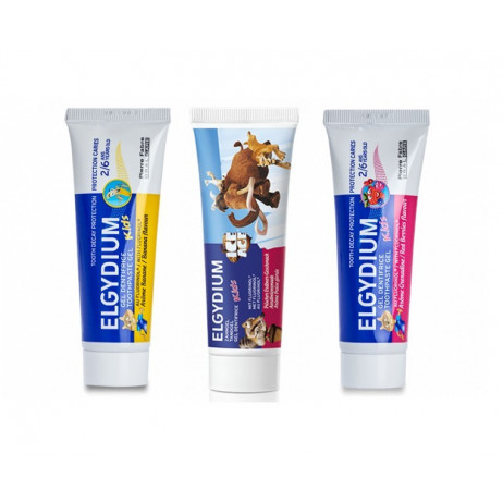 ELGYDIUM Kids gel dentifrice 50ml