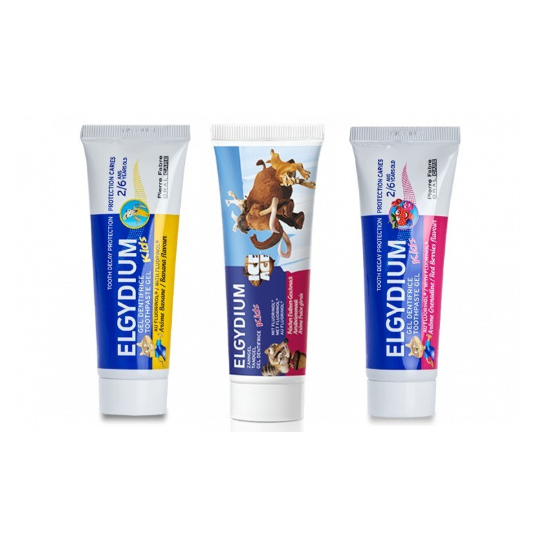 ELGYDIUM Kids gel dentifrice 50ml