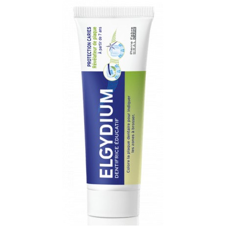 ELGYDIUM Protection caries dentifrice éducatif +7 ans 50ml