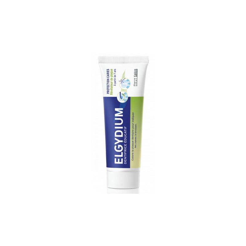 ELGYDIUM Protection caries dentifrice éducatif +7 ans 50ml