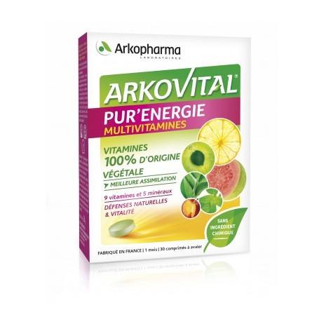 ARKOPHARMA Arkovital Pur'énergie multivitamines x30 comprimés