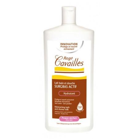 ROGE CAVAILLES Lait bain et douche surgras actif hydratant 750ml