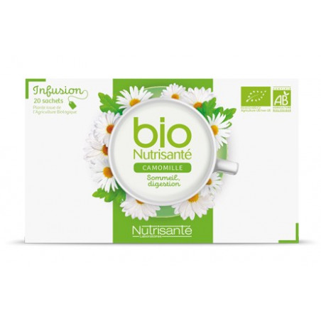 NUTRISANTE Infusion bien-être Bio x20 sachets