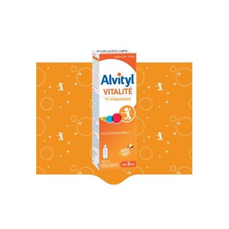 ALVITYL Vitalité solution buvable 150ml