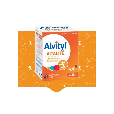 ALVITYL Vitalité comprimés