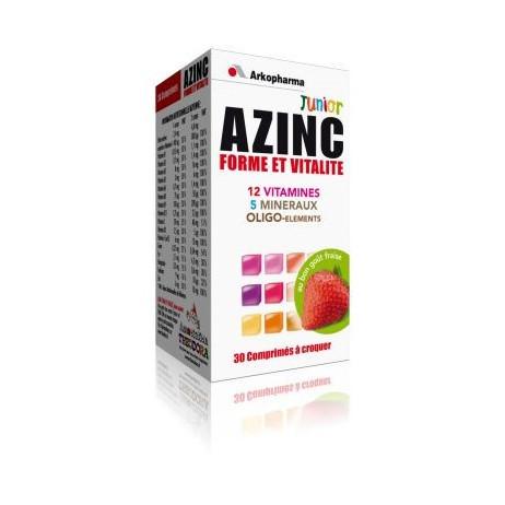 ARKOPHARMA Azinc junior forme et vitalité 30 comprimés
