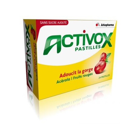 ARKOPHARMA Activox 24 pastilles