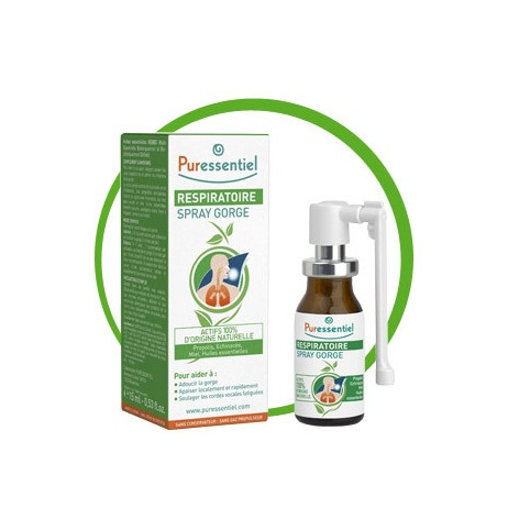PURESSENTIEL Spray gorge respiratoire 15ml