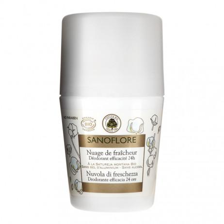 SANOFLORE  déodorant roll on 24h 50ml