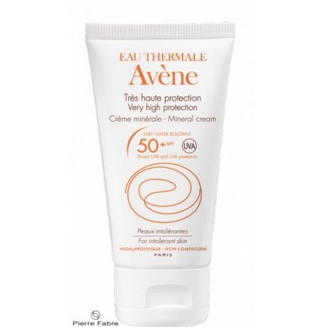 AVENE Très haute protection SPF50+ crème minérale 50ml