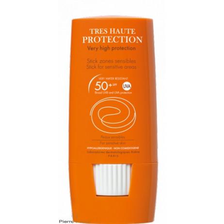 AVENE Très haute protection SPF50+ stcik zones sensibles 8g