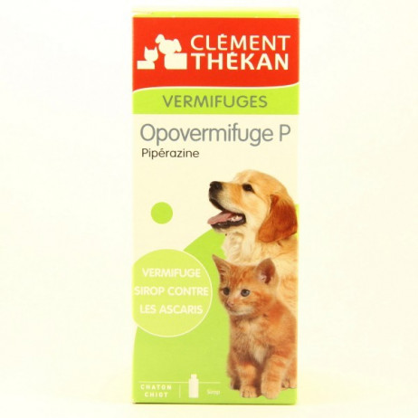 CLEMENT THEKAN Opovermifuge P sirop 200ml