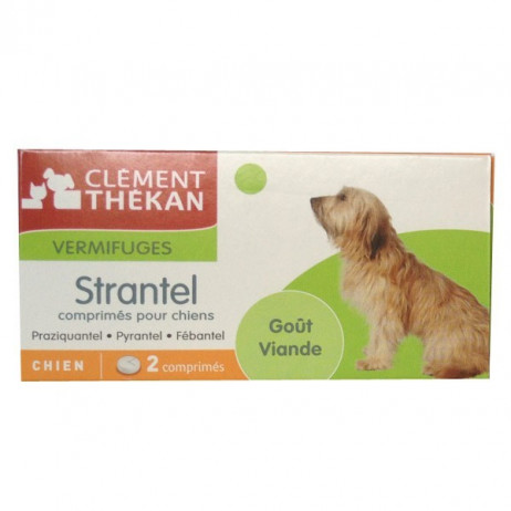 CLEMENT THEKAN Strantel vermifuge chien