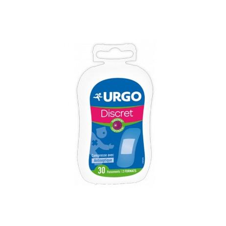 URGO Discret transparent 30 pansements 2 formats