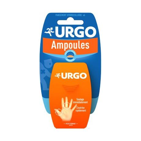 URGO Ampoules traitement doigt/orteil 6 pansements