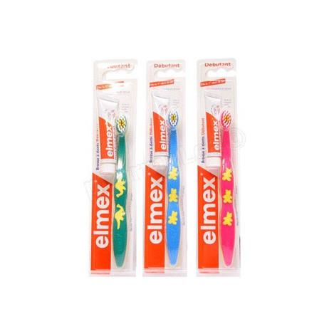 ELMEX Débutant brosse à dents 0-3 ans