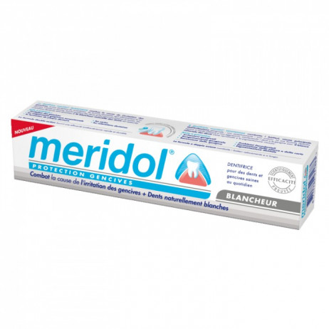 MERIDOL Dentifrice protection gencives blancheur 75ml