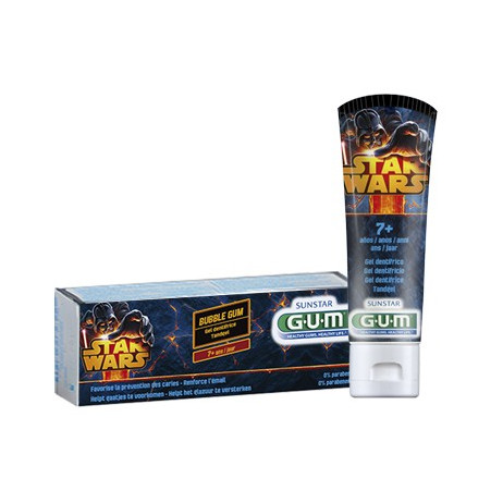 G.U.M StarWars dentifrice enfant 50ml