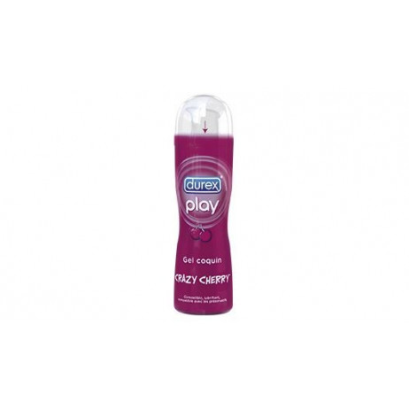 DUREX Crazy cherry gel coquin 50ml