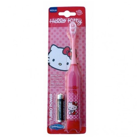 SMILEGUARD brosse à dents électrique à piles Hello Kitty