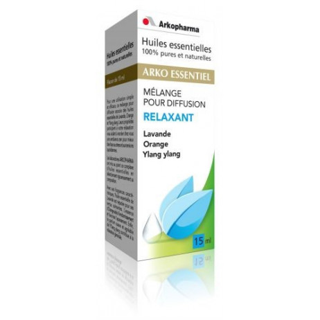 ARKOPHARMA Mélange pour diffusion relaxant 15ml