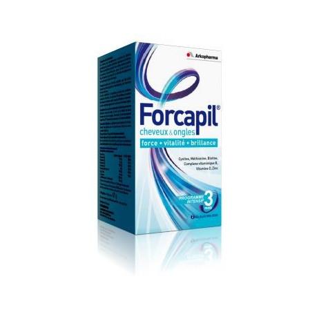 ARKOPHARMA Forcapil cheveux et ongles x180 gélules