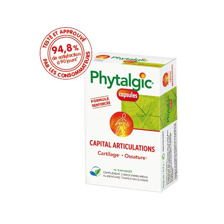 PHYTALGIC Capital articulations capsules
