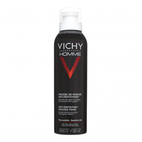 VICHY HOMME mousse de rasage anti-irritations 200ml
